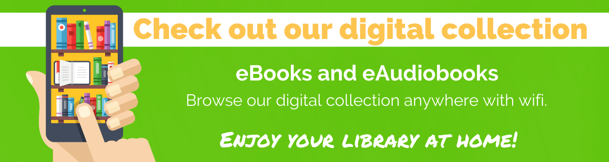 Digital Services Banner ebooks eaudiobooks