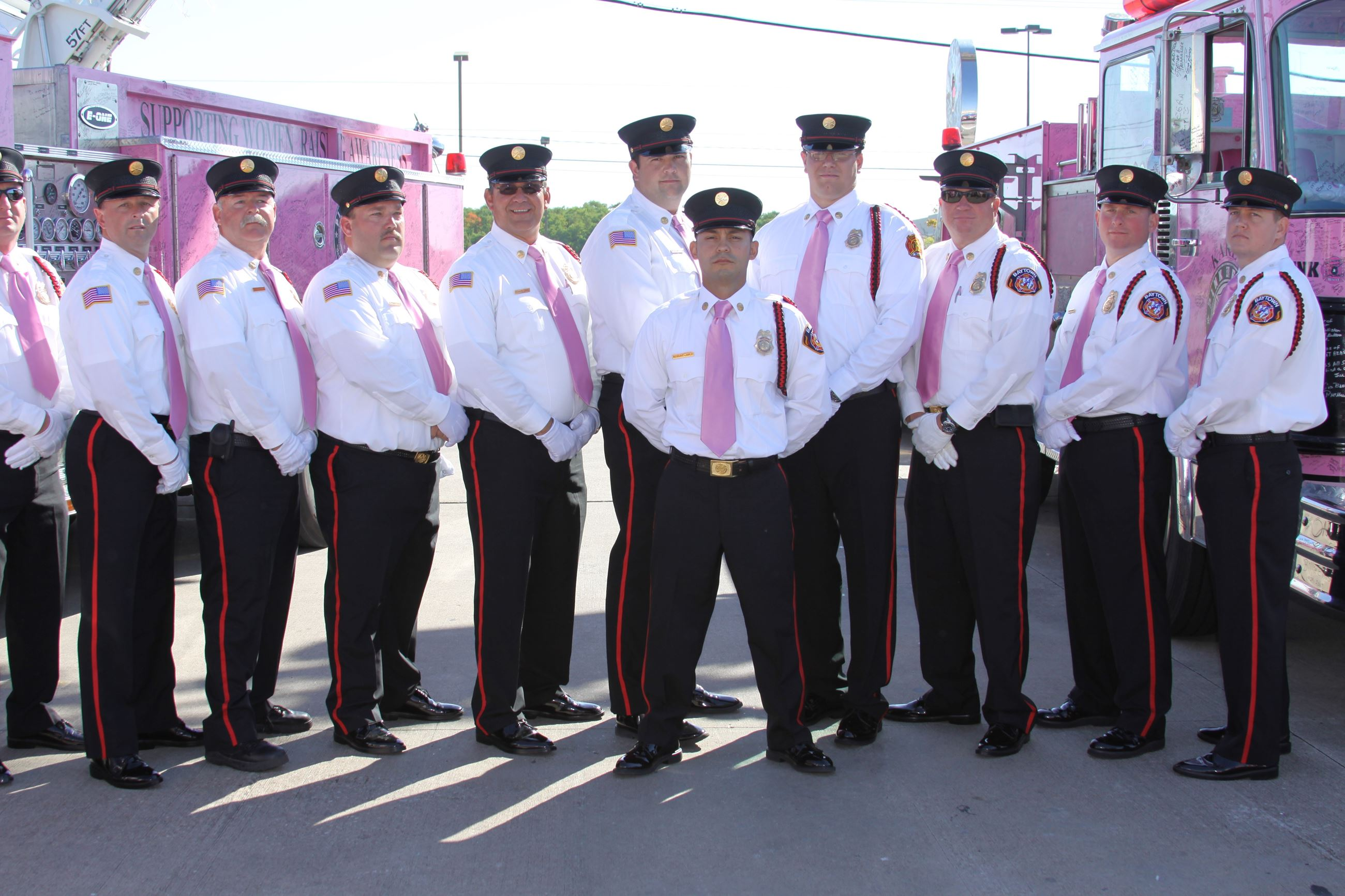 Honor Guard - Pink Heals Event